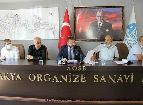 Antakya  OSB genel kurulu yapıldı...