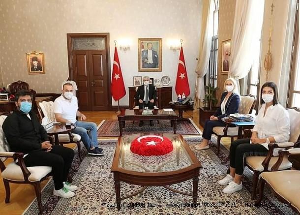 ATV ve Kalp Yarası ekibi Doğan 'ı ziyaret etti...