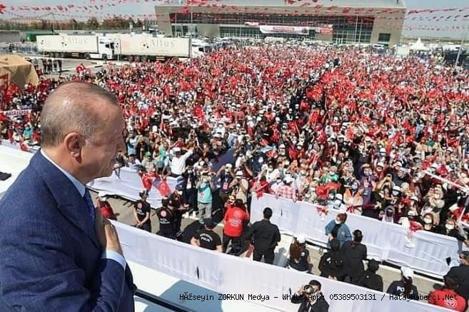 Erdoğan Hatay'da...