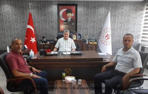 Gazeteci Zorkun 'dan Şensöz 'e ziyaret...