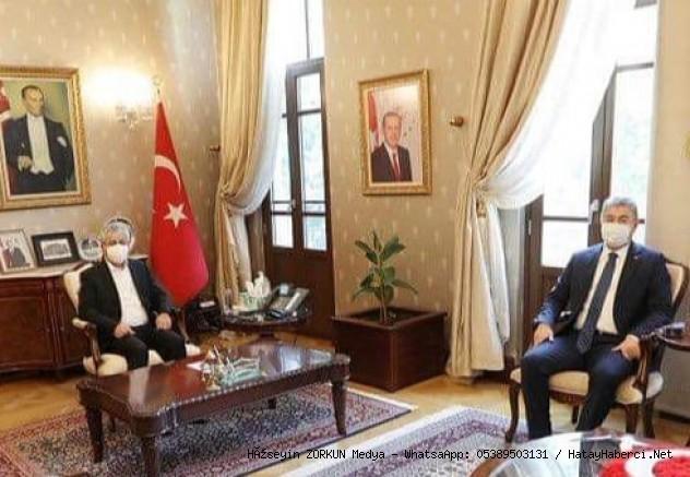Osmaniye Valisi Yılmaz Hatay'da...