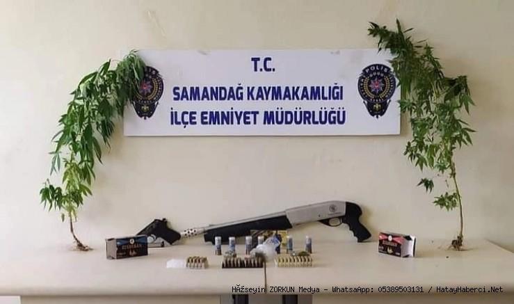 Uyuşturucu operasyonu.... 1 kişi gözaltına alındı...